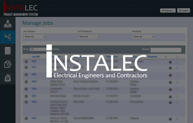 Instalec Business Application