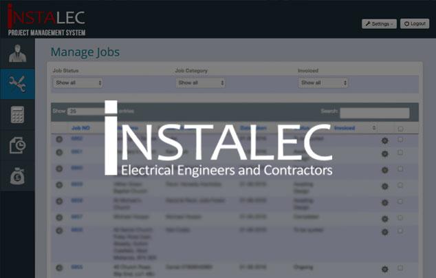 Instalec Business Application